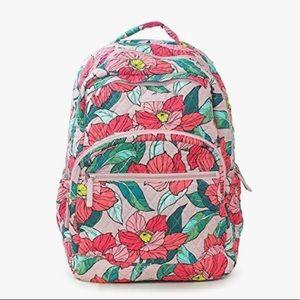 Vera Bradley Floral Essential Large Backpack